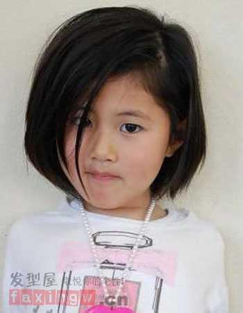 儿童短发发型图片女 儿童短发发型图片图片